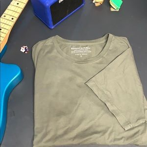 Banana Republic Authentic Tee Large Forrest Green